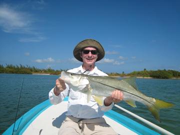 Snook Fishing in Cancun