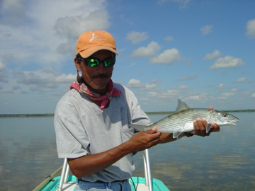 Enrique With a Bonefish