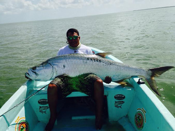 Holbox Tarpon Fly Fishing