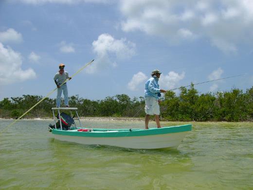 Cancun Fly Fishing Boat