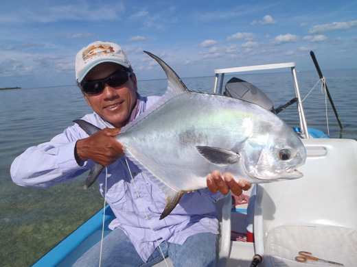 Permit Fishing in Isla Blanca