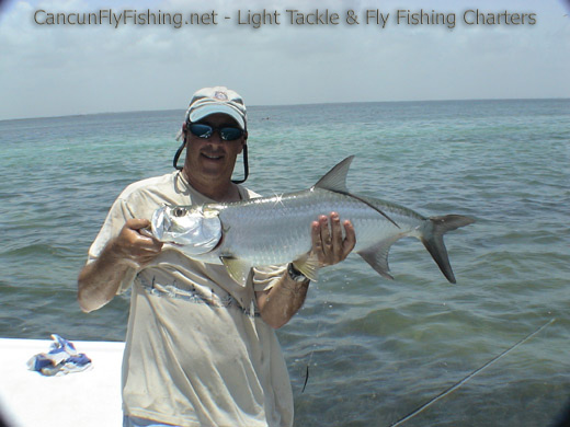cancun fly fishing pictures of fly fishing in cancun and